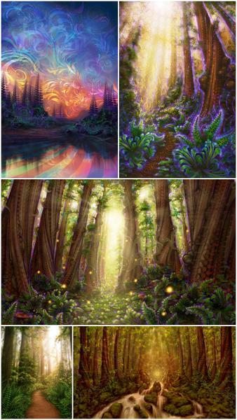 ForestPrintPk2_tall_grande
