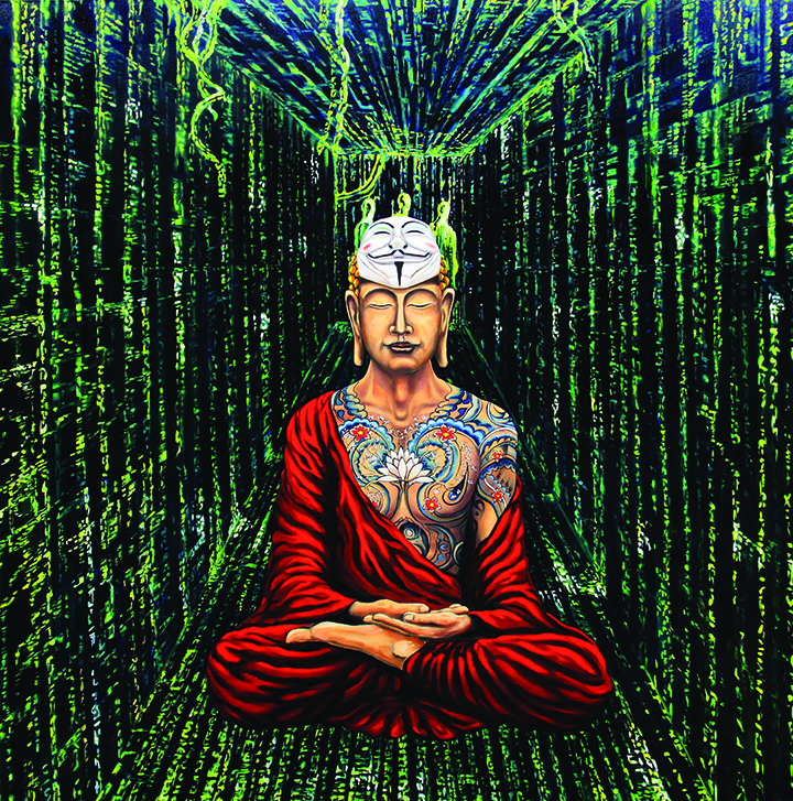 Buddha in matrix.B