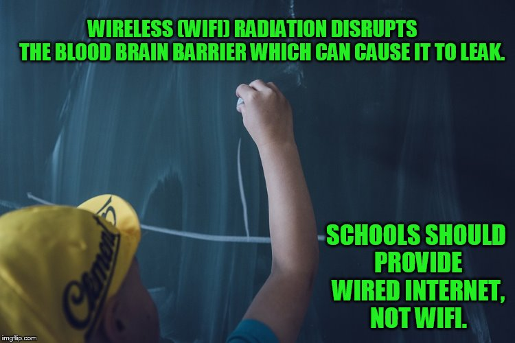 Child Testifies About WiFi at Her School Giving Her Microwave Sickness – a Medically Recognized Illness