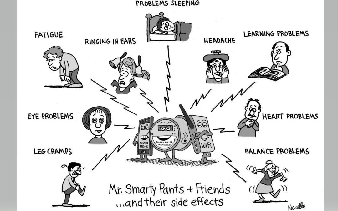 A Meme Illustrating Electromagnetic Hypersensitivity:
