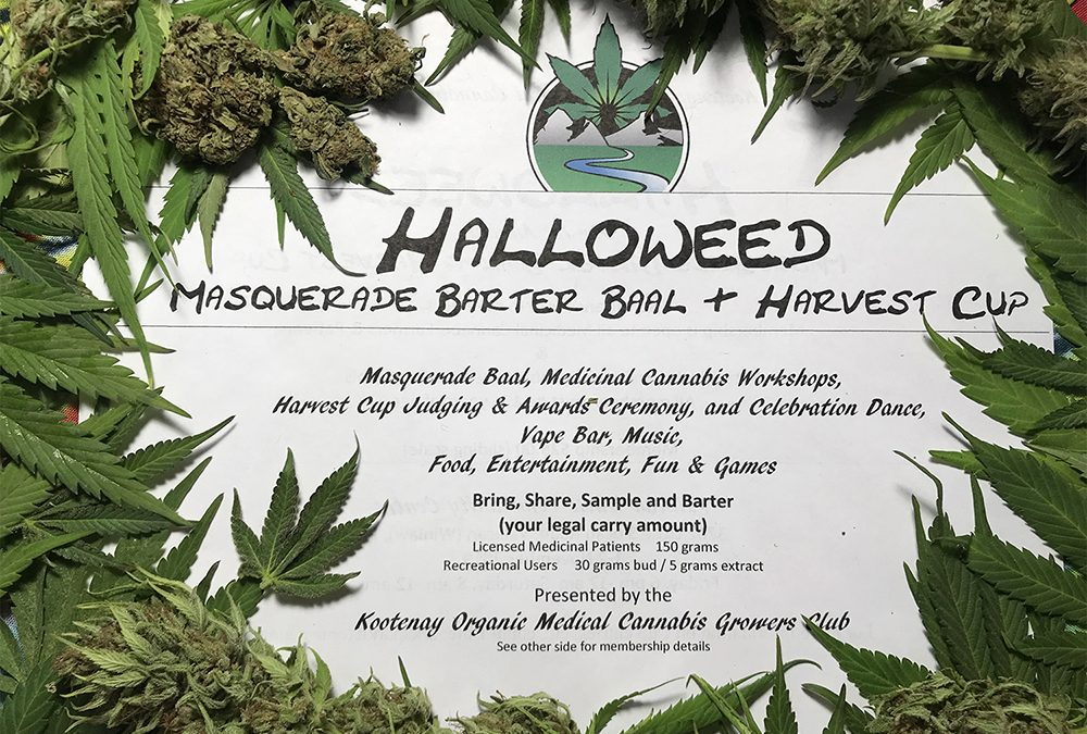 Halloweed Masquerade Baal and Harvest Cup Nov. 8-9th, 2019