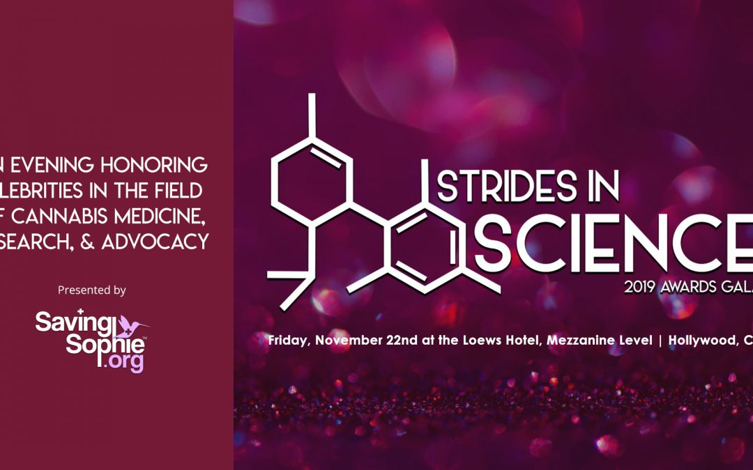 Strides in Science 2019 Gala Awards –  Friday, Nov 22nd, 2019