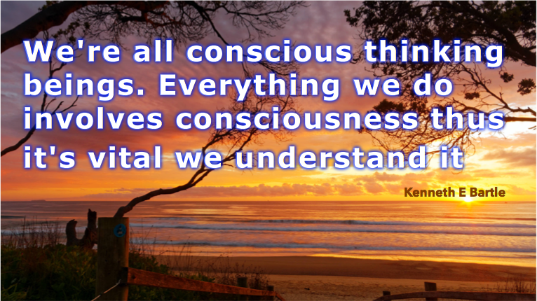 Do you know what's consciously possible?