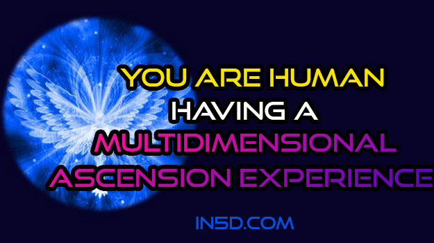 You Are Human Having a Multidimensional Ascension Experience