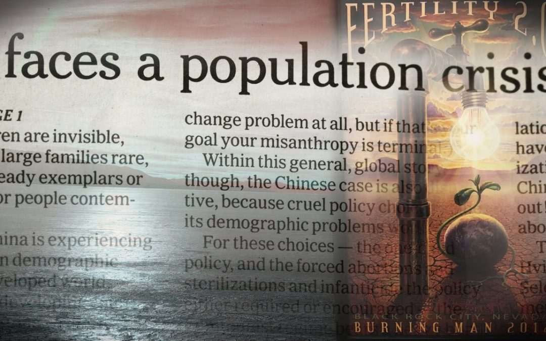 A Stunning Admission on the So-Called Population Crisis