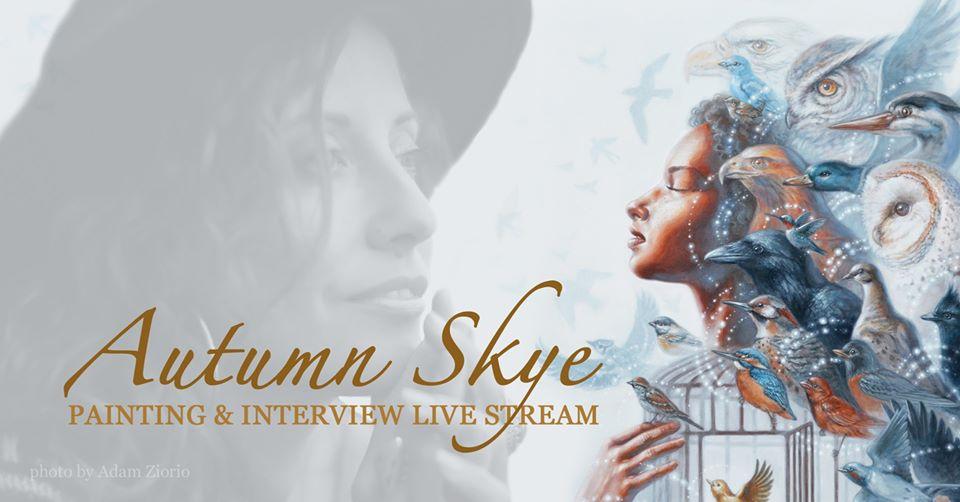 Autumn Skye's New Painting & Livestream tomorrow!