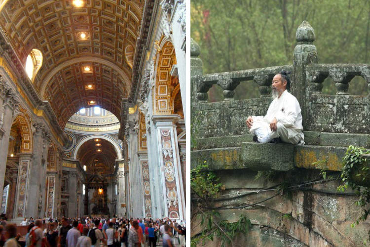 A TAOIST MASTER EXPLAINS THE DIFFERENCE BETWEEN RELIGION AND INDIVIDUAL SPIRITUAL CULTIVATION