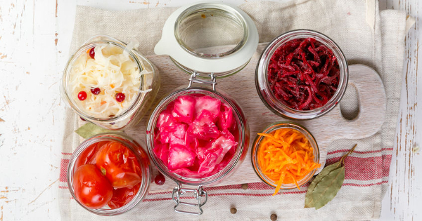 Top Five Traditional, Fermented Antiaging Foods