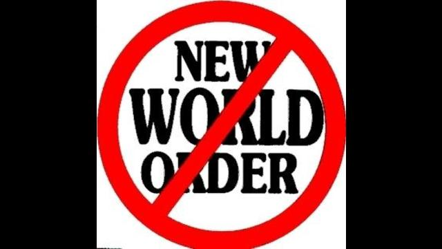 You can stick your new world order up your arse!