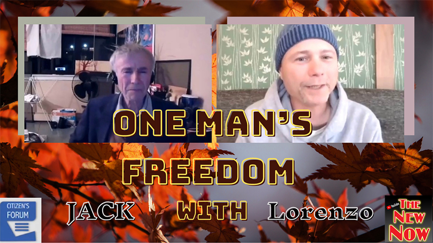 One Man's Freedom with Lorenzo & Jack Etkin from Citizen's Forum