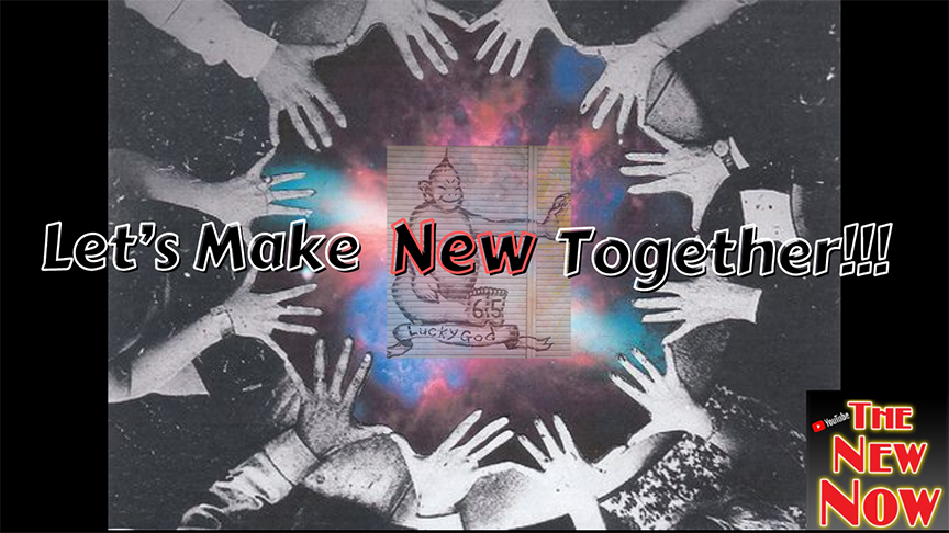 Let's Make New Together! (A Happy New Year!)