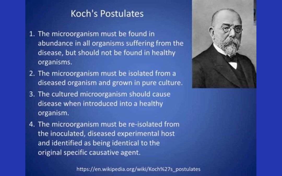 Koch's Postulates – The Germ Theory Never Satisfies