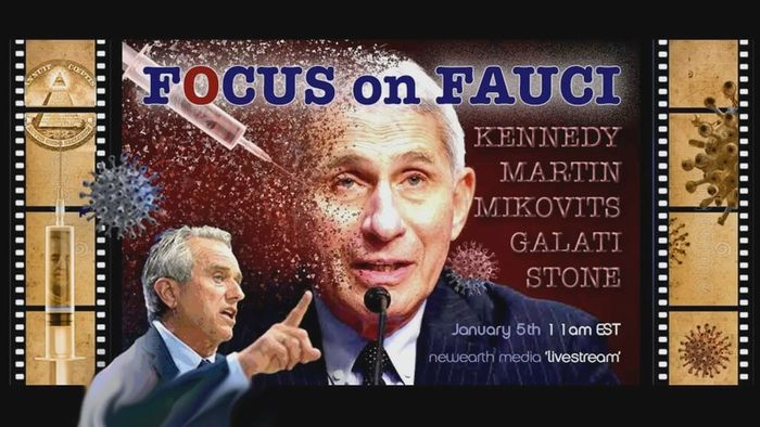 SPECIAL FREE LIVE BROADCAST Jan 2021: Focus on Fauci