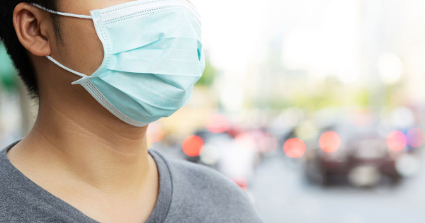 Could Wearing a Face Mask Trigger Lung Disease?