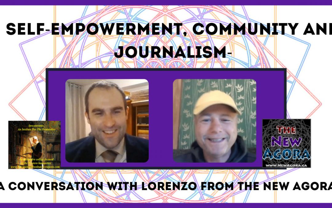 Empowerment, Community, And Journalism  A Conversation…