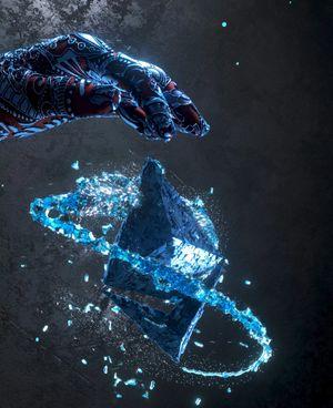 Diamond Sharpens Diamond: from tragedy to transcendence
