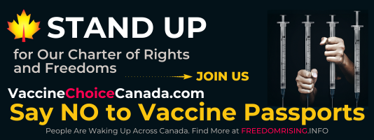 Vaccine Choice Canada ~  CHOICE Insider, Sept 13, 2021 – Meeting Links and Actions